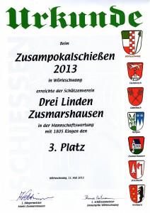 ZP 2013 Urkunde